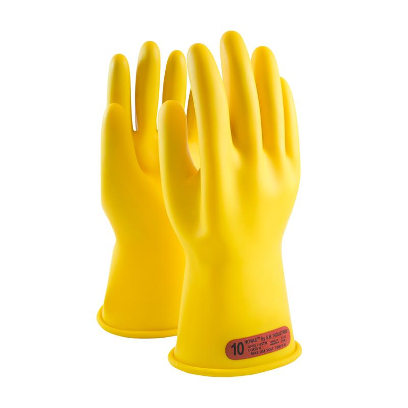 Voltage Rated Gloves : Novax class electrical rated gloves